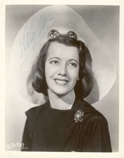 LILY PONS - AUTOGRAPHED SIGNED PHOTOGRAPH