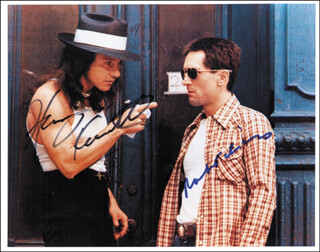 TAXI DRIVER MOVIE CAST - AUTOGRAPHED SIGNED PHOTOGRAPH CO-SIGNED BY: ROBERT DENIRO, HARVEY KEITEL