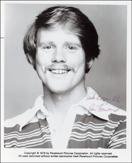 RON HOWARD - AUTOGRAPHED SIGNED PHOTOGRAPH 1979