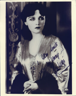 POLA NEGRI - AUTOGRAPHED INSCRIBED PHOTOGRAPH