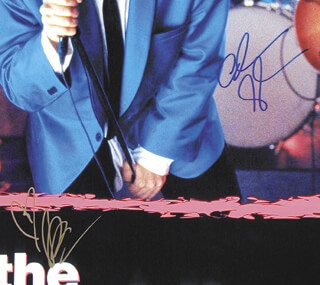 WEDDING SINGER MOVIE CAST - AUTOGRAPHED SIGNED POSTER CO-SIGNED BY: DREW BARRYMORE, ADAM SANDLER