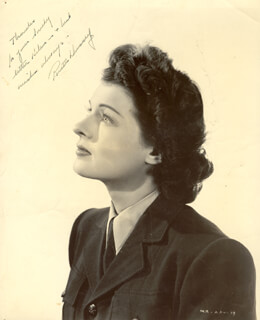 RUTH HUSSEY - AUTOGRAPHED INSCRIBED PHOTOGRAPH