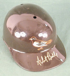 Autographs: ALBERT JOEY BELLE - HAT SIGNED