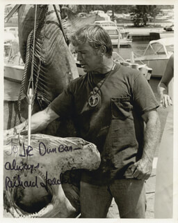 RICHARD JAECKEL - AUTOGRAPHED INSCRIBED PHOTOGRAPH
