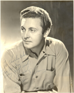 ALLAN JONES - AUTOGRAPHED INSCRIBED PHOTOGRAPH