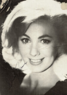 SHIRLEY JONES - MAGAZINE PHOTOGRAPH SIGNED