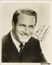 PAUL NEWMAN - AUTOGRAPHED INSCRIBED PHOTOGRAPH CIRCA 1959