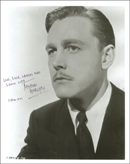 MYRON D. HEALEY - AUTOGRAPHED SIGNED PHOTOGRAPH