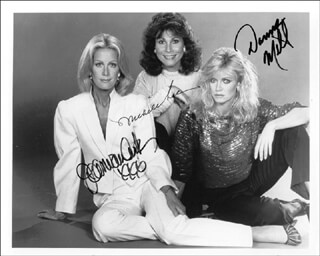 KNOTS LANDING TV CAST - AUTOGRAPHED SIGNED PHOTOGRAPH CO-SIGNED BY: DONNA MILLS, JOAN VAN ARK, MICHELE LEE
