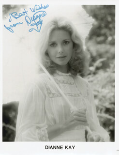 DIANNE KAY - AUTOGRAPHED SIGNED PHOTOGRAPH