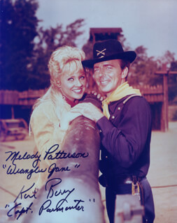 F TROOP TV CAST - AUTOGRAPHED SIGNED PHOTOGRAPH CO-SIGNED BY: MELODY PATTERSON, KEN BERRY