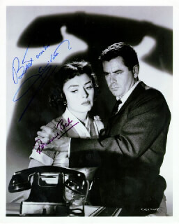 FEARFUL DECISION MOVIE CAST - AUTOGRAPHED SIGNED PHOTOGRAPH CO-SIGNED BY: GLENN FORD, DONNA REED