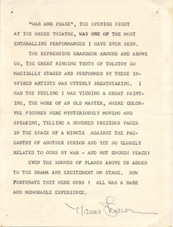 NORMA SHEARER - TYPED STATEMENT SIGNED