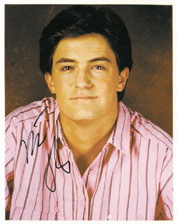 MATTHEW PERRY - AUTOGRAPHED SIGNED PHOTOGRAPH
