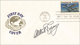 ALBERT V. CASEY - FIRST DAY COVER SIGNED