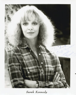 SARAH KENNEDY - AUTOGRAPHED INSCRIBED PHOTOGRAPH