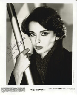 PERSIS KHAMBATTA - AUTOGRAPHED INSCRIBED PHOTOGRAPH