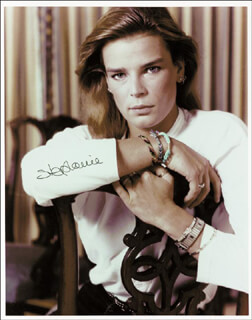 Autographs: PRINCESS STEPHANIE (MONACO) - PHOTOGRAPH SIGNED