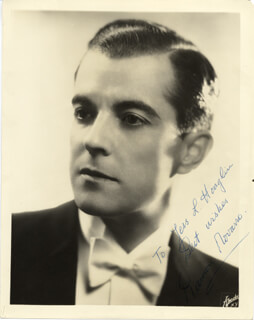RAMON NOVARRO - AUTOGRAPHED INSCRIBED PHOTOGRAPH