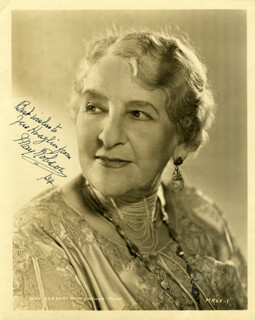 MAY ROBSON - AUTOGRAPHED INSCRIBED PHOTOGRAPH 1934