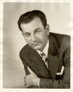MILBURN STONE - AUTOGRAPHED INSCRIBED PHOTOGRAPH