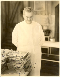 JEAN HERSHOLT - AUTOGRAPHED INSCRIBED PHOTOGRAPH 9/1936