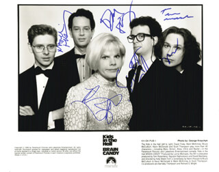 THE KIDS IN THE HALL - AUTOGRAPHED SIGNED PHOTOGRAPH CO-SIGNED BY: THE KIDS IN THE HALL (DAVID FOLEY), KIDS IN THE HALL (MARK McKINNEY), KIDS IN THE HALL (BRUCE McCULLOCH), KIDS IN THE HALL (KEVIN McDONALD), THE KIDS IN THE HALL (SCOTT THOMPSON)