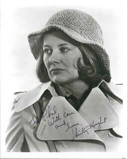 SHIRLEY KNIGHT - AUTOGRAPHED INSCRIBED PHOTOGRAPH