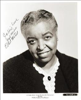 ETHEL WATERS - AUTOGRAPHED SIGNED PHOTOGRAPH