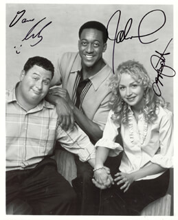 GROWN UPS TV CAST - AUTOGRAPHED SIGNED PHOTOGRAPH CO-SIGNED BY: JALEEL WHITE, DAVE RUBY, MARISSA RIBISI