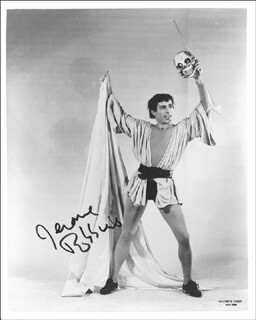 JEROME ROBBINS - AUTOGRAPHED SIGNED PHOTOGRAPH