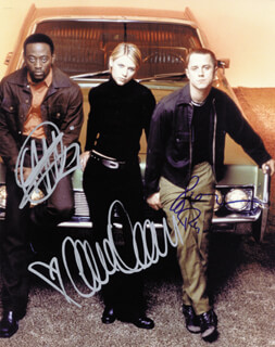 MOD SQUAD MOVIE CAST - AUTOGRAPHED SIGNED PHOTOGRAPH CO-SIGNED BY: CLAIRE DANES, OMAR EPPS, GIOVANNI RIBISI - HFSID 255718