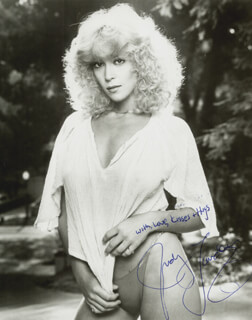 JUDY LANDERS - AUTOGRAPHED SIGNED PHOTOGRAPH