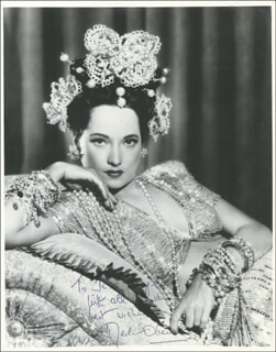 MERLE OBERON - AUTOGRAPHED INSCRIBED PHOTOGRAPH