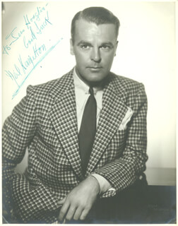 NEIL HAMILTON - AUTOGRAPHED INSCRIBED PHOTOGRAPH