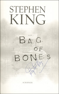 STEPHEN KING - BOOK SIGNED CIRCA 1998