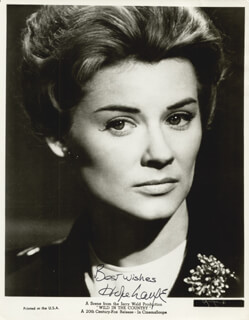 HOPE LANGE - AUTOGRAPHED SIGNED PHOTOGRAPH