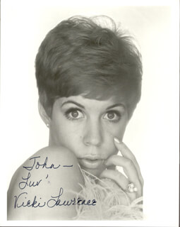 VICKI LAWRENCE - AUTOGRAPHED INSCRIBED PHOTOGRAPH