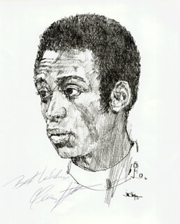 CLEAVON J. LITTLE - PRINTED ART SIGNED 1972