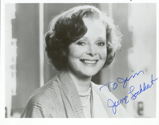 JUNE LOCKHART - AUTOGRAPHED INSCRIBED PHOTOGRAPH