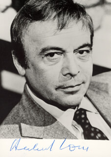 HERBERT LOM - AUTOGRAPHED SIGNED PHOTOGRAPH