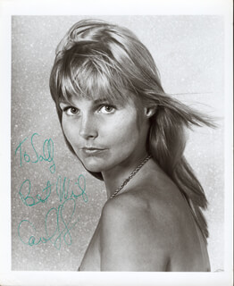 CAROL LYNLEY - AUTOGRAPHED INSCRIBED PHOTOGRAPH