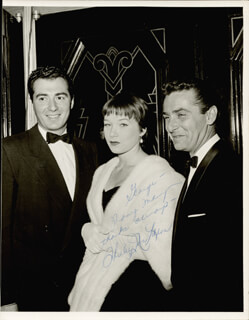 SHIRLEY MacLAINE - AUTOGRAPHED INSCRIBED PHOTOGRAPH