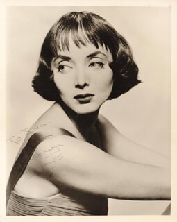 CAROLYN JONES - AUTOGRAPHED INSCRIBED PHOTOGRAPH