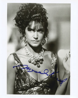 MERCEDES RUEHL - AUTOGRAPHED SIGNED PHOTOGRAPH