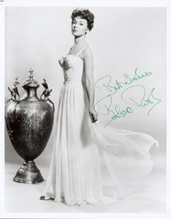 BARBARA RUSH - AUTOGRAPHED SIGNED PHOTOGRAPH