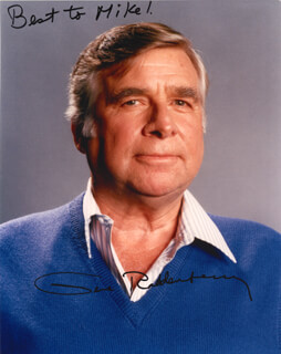 GENE RODDENBERRY - AUTOGRAPHED SIGNED PHOTOGRAPH