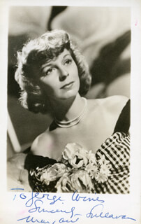 MARGARET SULLAVAN - AUTOGRAPHED INSCRIBED PHOTOGRAPH