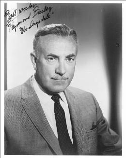 RAYMOND BAILEY - AUTOGRAPHED SIGNED PHOTOGRAPH