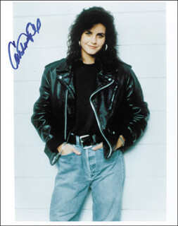 COURTENEY COX - AUTOGRAPHED SIGNED PHOTOGRAPH